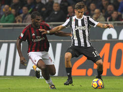 Franck Kessié gegen Paulo Dybala