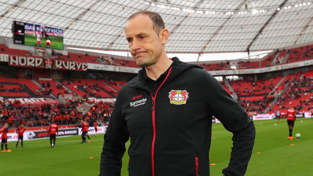 Heiko Herrlich übernahm 2017 den Bundesligisten Bayer Leverkusen