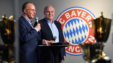 Karl-Heinz Rummenigge und Uli Hoeneß sollen für 2019 sparen