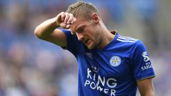 Jamie Vardy ist betroffen vom Tod des Leicester-Besitzers