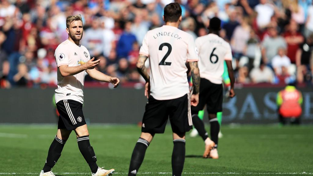 Luke Shaw hat seinen Vertrag bei Manchester United verlängert