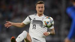 Marco Reus kann wohl gegen die Niederlande spielen