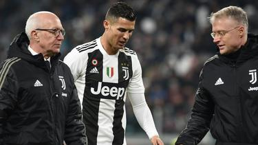 Cristiano Ronaldo und Juve wurden stark kritisiert