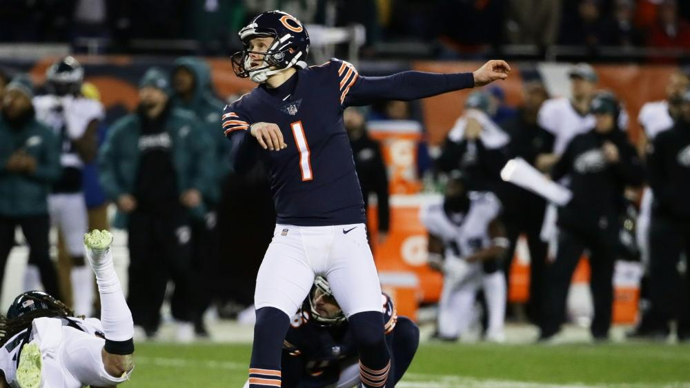 Cody Parkey vergibt Chance zum Sieg