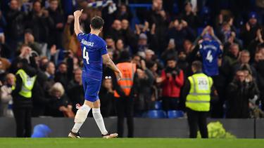 Cesc se marchó muy emocionado de Stamford Bridge. (Foto: Getty)