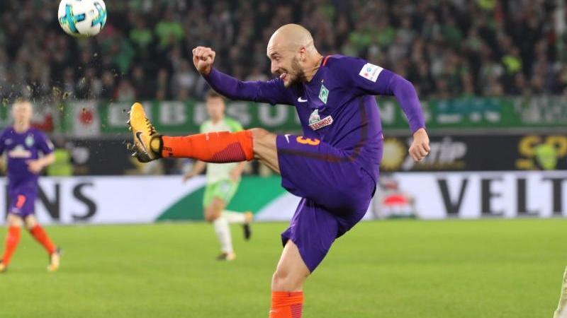 Abwehrspieler Luca Caldirola spielt in den Planungen von Werder Bremen keine Rolle mehr