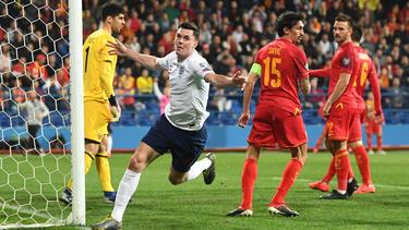 Michael Keane besorgte den zwischenzeitlichen Ausgleich für England