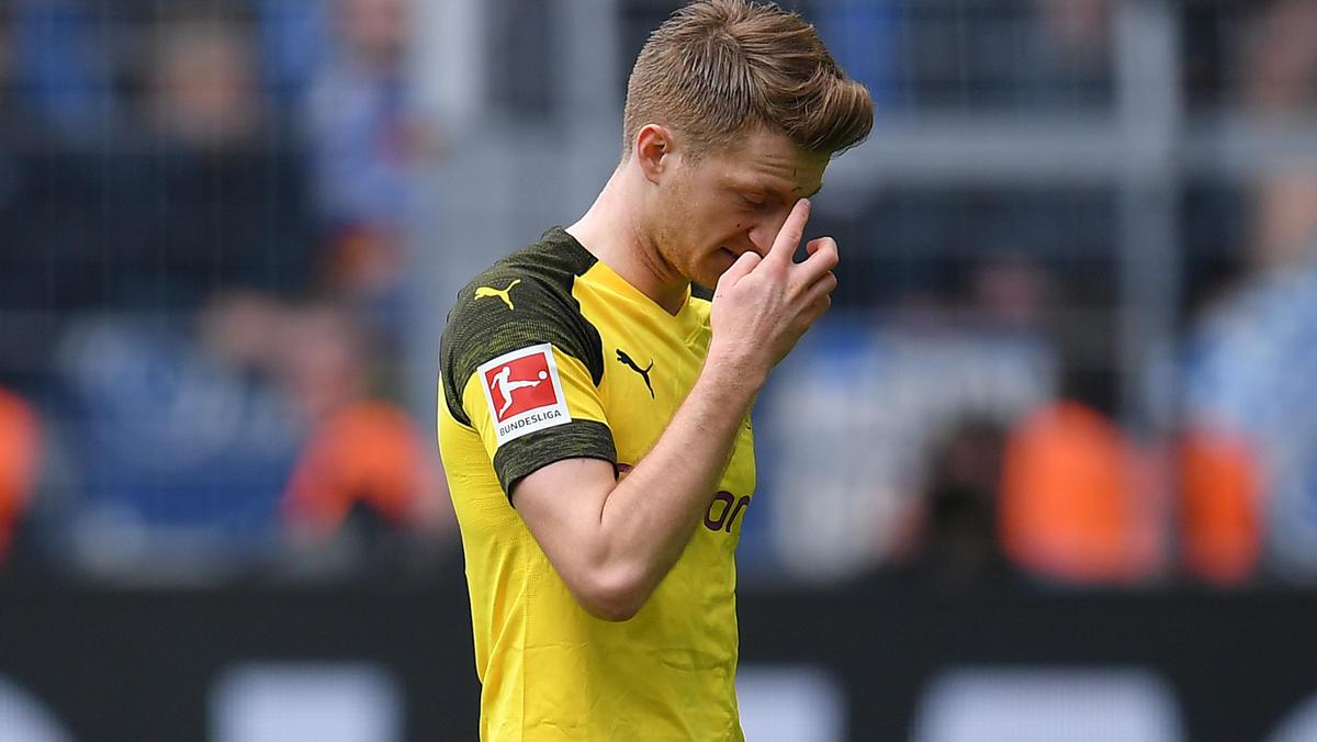Marco Reus verpasste den Meistertitel mit dem BVB