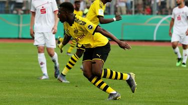 Moukoko erzielte bei seinem A-Jugend-Debüt sechs Tore