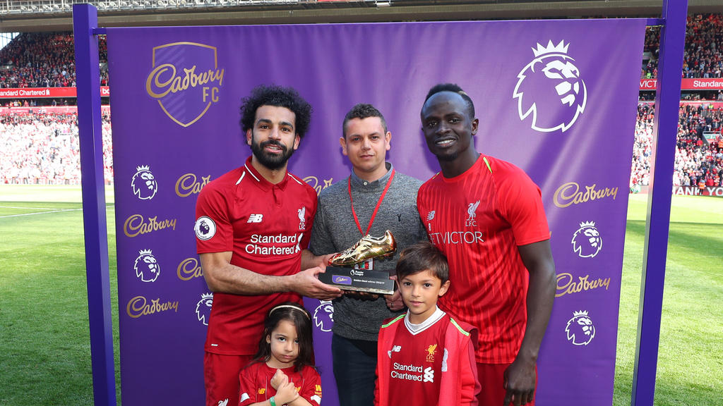 Mohamed Salah und Sadio Mané erzielten 22 Liga-Tore in England