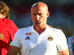 Rapid-Coach Goran Djuricin stand nach der 1:3-Niederlage gegen Admira Wacker im Mittelpunkt