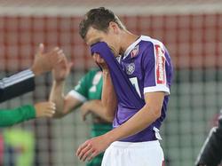Florian Klein erlitt im Derby eine Mittelfußverletzung