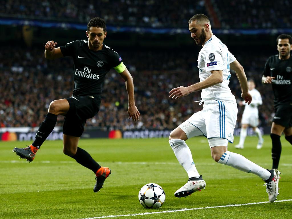 Benzema tiene ganas de marcar ante el PSG.