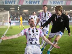 """Ex-Austrianer Petar Filipović traf gegen die """"Veilchen"""" zum 2:0 für den LASK"""