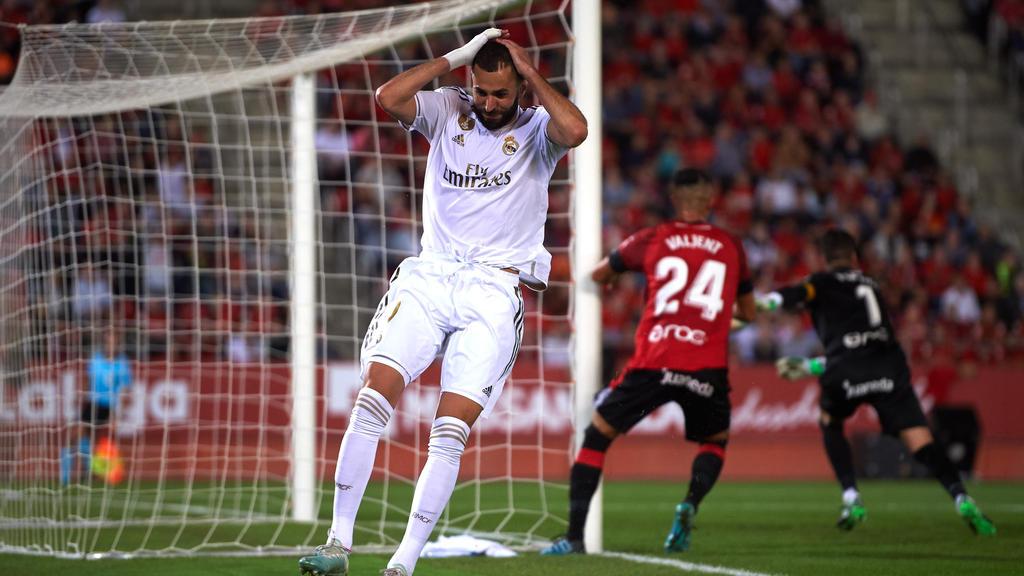 Real Madrid musste sich RCD Mallorca geschlagen geben