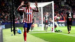 Álvaro Morata erzielte das Tor des Abends im Madrid