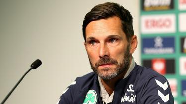 Trainer Stefan Leitl verlängert seinen Vertrag bei Greuther Fürth