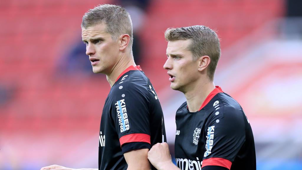 Lars und Sven Bender spielten einst für Bayer Leverkusen