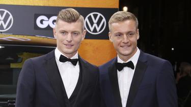 Toni und Felix Kroos appellieren ans Wählen