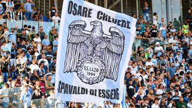 Lazio-Fans sind mal wieder negativ aufgefallen