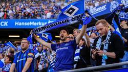 HSV-Fans freuen sich auf das Spiel