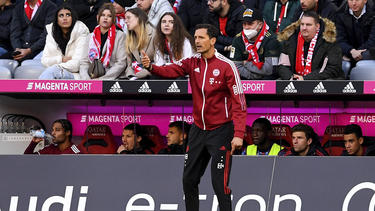 Dino Toppmöller hat Bayern-Cheftrainer Julian Nagelsmann erneut an der Seitenlinie vertreten