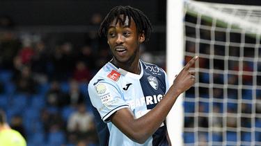 Tino Kadewere wird bei Eintracht Frankfurt gehandelt