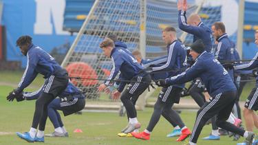 Die HSV-Profis wollen gegen Nürnberg einen Sieg einfahren