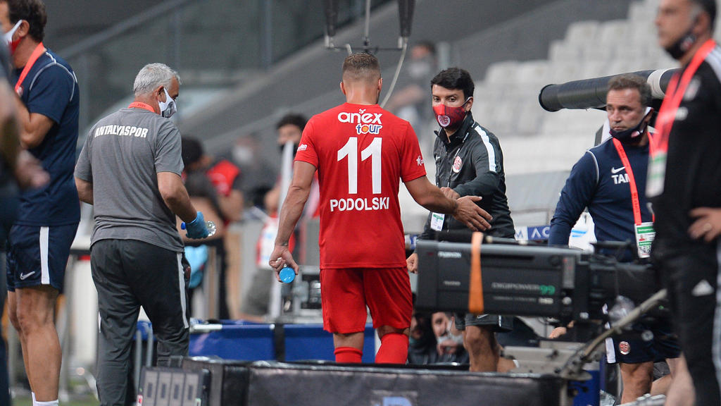 Wurde in der 53. Minute ausgewechselt: Lukas Podolski