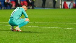 Marc-André ter Stegen konnte die historische Niederlage gegen den FCBayern nicht verhindern