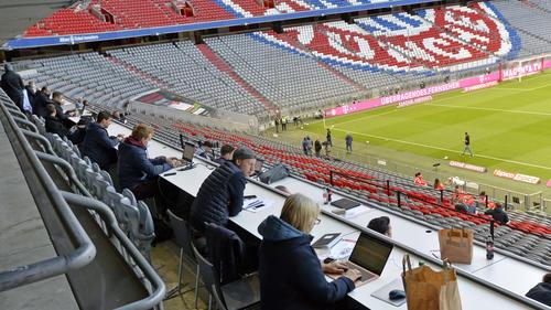 Geisterspiele werden im November wieder zum gewohnten Bild im deutschen Profi-Fußball