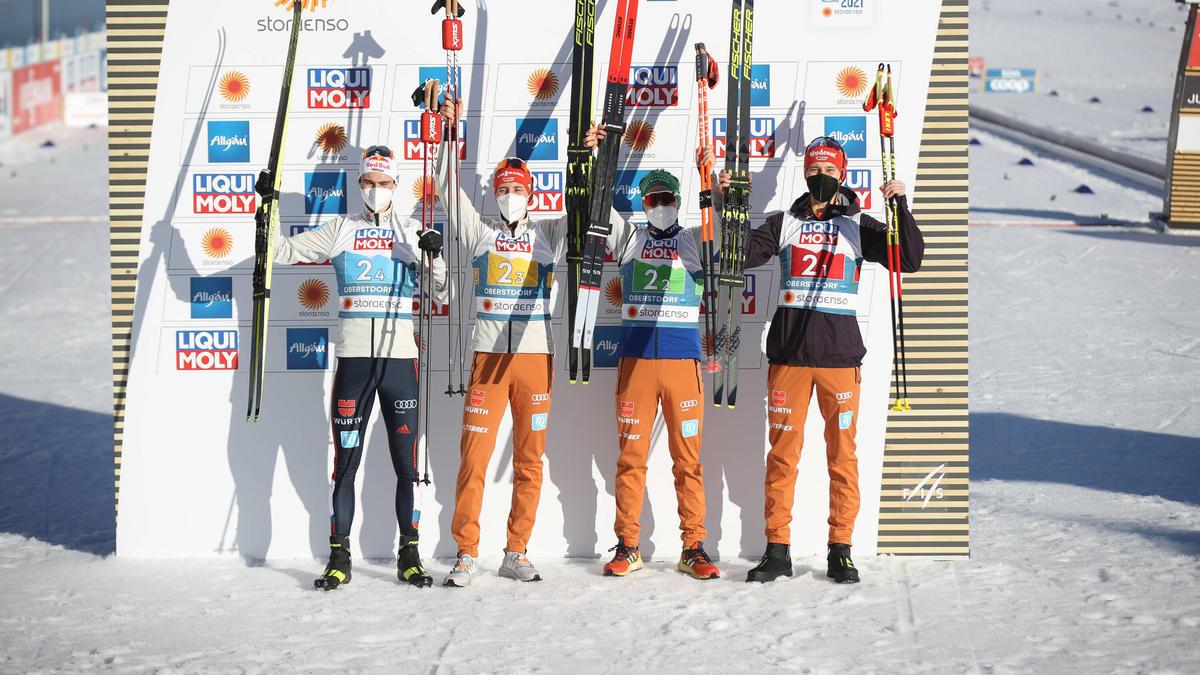 """Der DSV-Staffel blieb """"nur"""" die Silbermedaille"""
