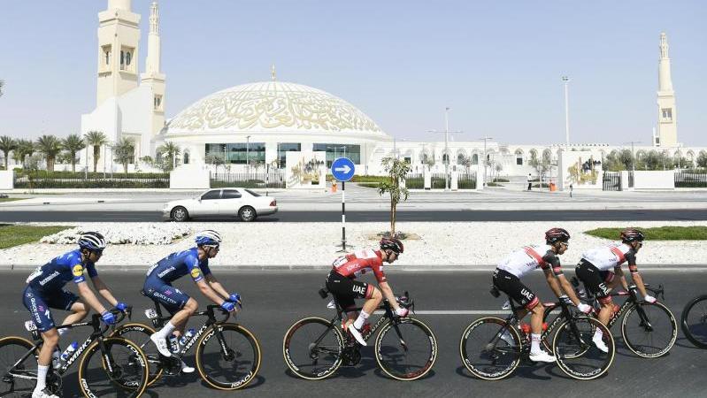 Die dritte Etappe der UAE-Tour führte über 166 Kilometer von Al Ain nach Jebel Hafeet
