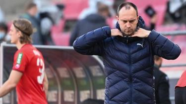 Kiels Coach Ole Werner schiebt den Druck zum 1. FC Köln