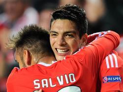 Freude bei Benfica