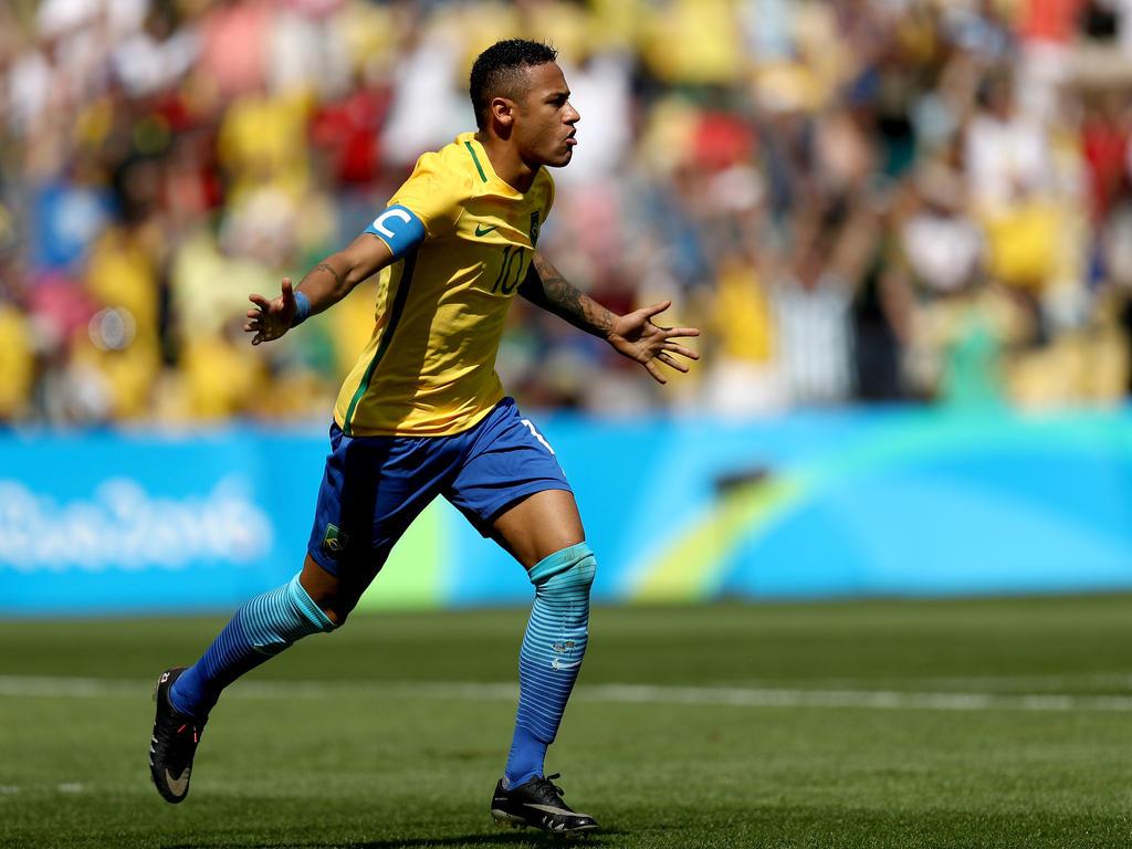 Neymar marcó después de tan sólo 15 segundos. (Foto: Getty)