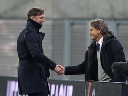 Ralph Hasenhüttl steht zum zweiten Mal Roberto Mancini gegenüber
