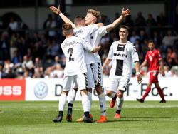 Die Junioren des SC Freiburg sind Pokalsieger