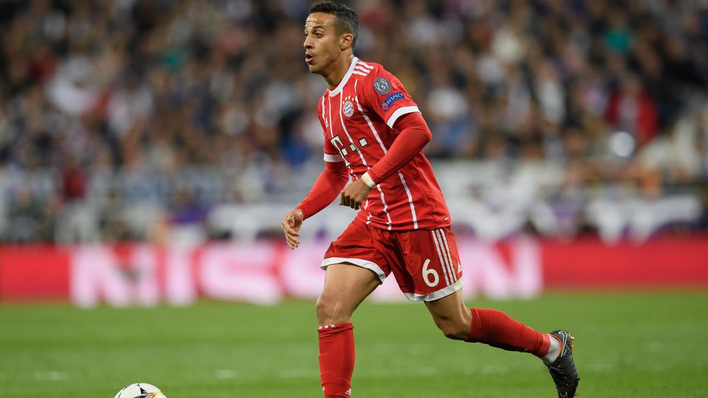 Thiago könnte den deutschen Rekordmeister verlassen