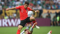 Hee-Chan Hwang könnte schon am Wochenende für den HSV zum Einsatz kommen