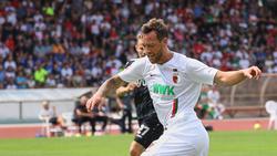 Julian Schieber möchte beim FCA endlich wieder voll angreifen