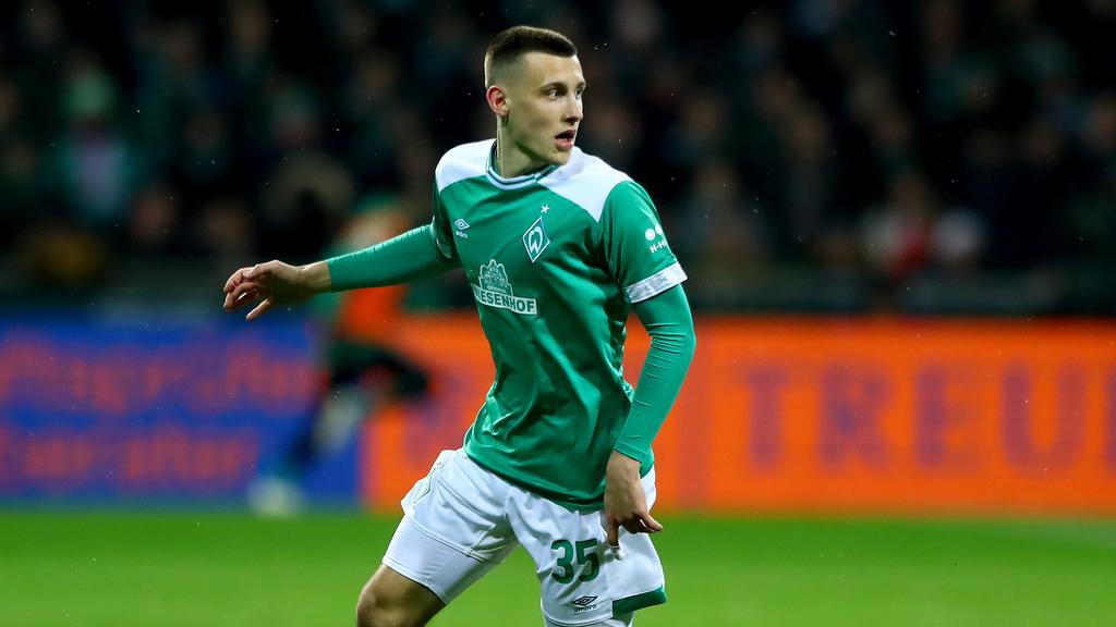Maximilian Eggestein spielt für Werder Bremen