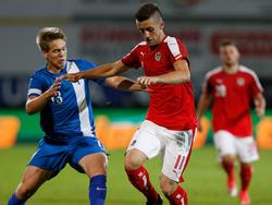 Nachwuchs-Teamstürmer Arnel Jakupović will sich bei Sturm für die U21-EM empfehlen