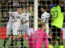 El Valencia quiere seguir vivo en la competición. (Foto: Getty)