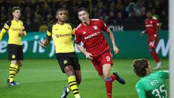 Robert Lewandowski glaubt vor dem Duell gegen den BVB nicht an eine Vorentscheidung im Meisterrennen
