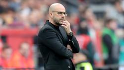 Peter Bosz kassierte mit Bayer Leverkusen die dritte Niederlage in Folge