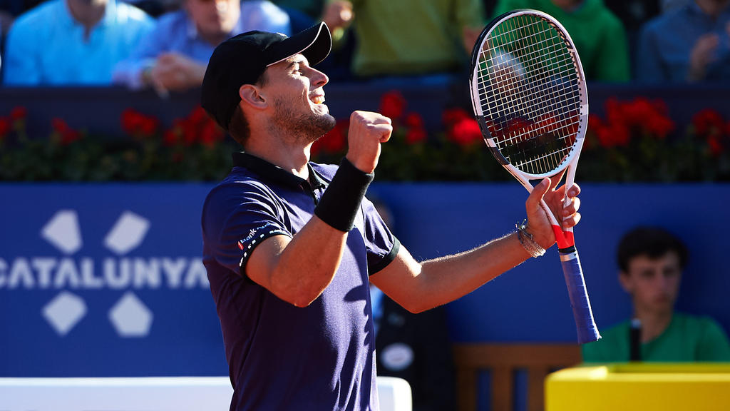 Dominic Thiem hat das ATP-Turnier von Barcelona gewonnen