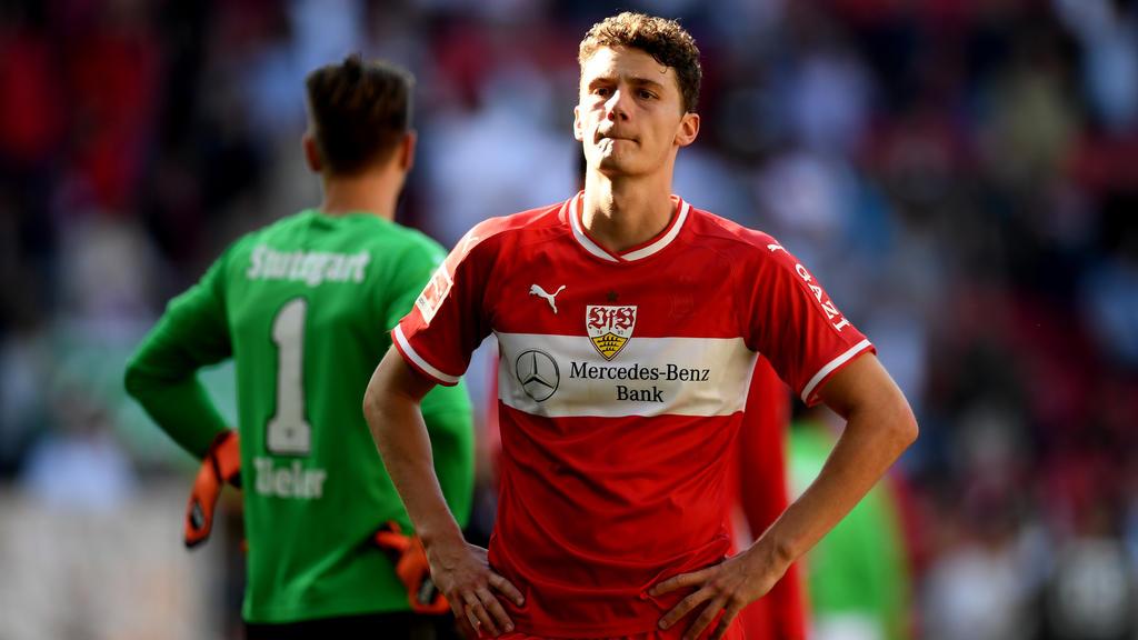 Benjamin Pavard spielt beim VfB eine durchwachsene Saison