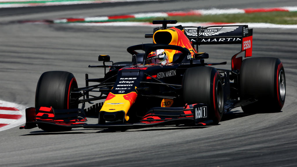 Max Verstappen durfte sich in Barcelona über Rang drei freuen