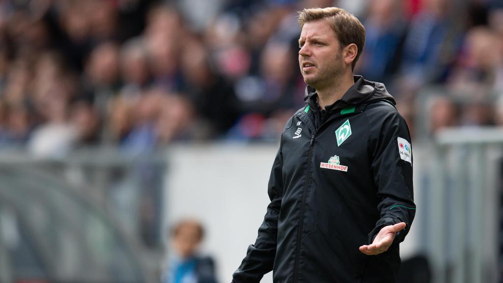 Florian Kohfeldt hat auch über den FC Bayern gesprochen